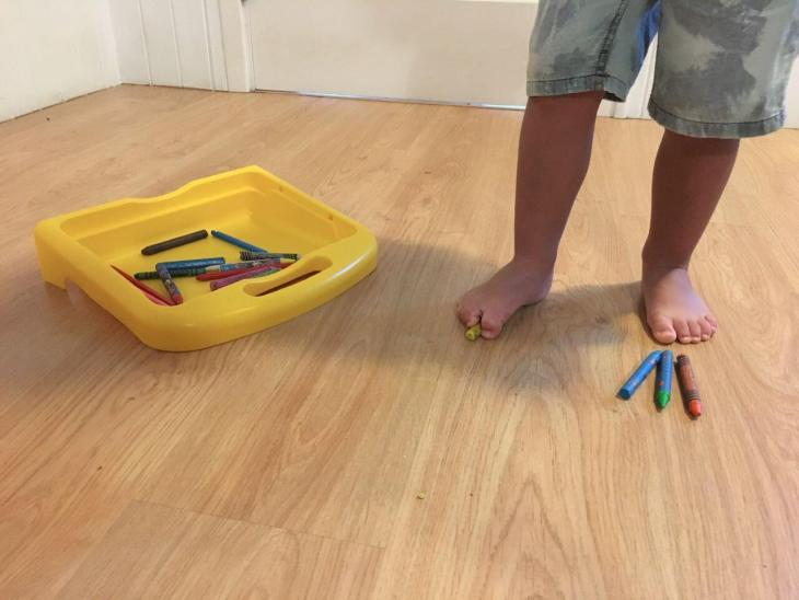 Ejercicios para el pie plano infantil