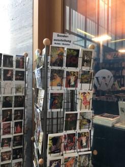 Postkarten der Ausstellung