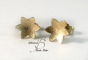 Sterne Gelbgold konkav