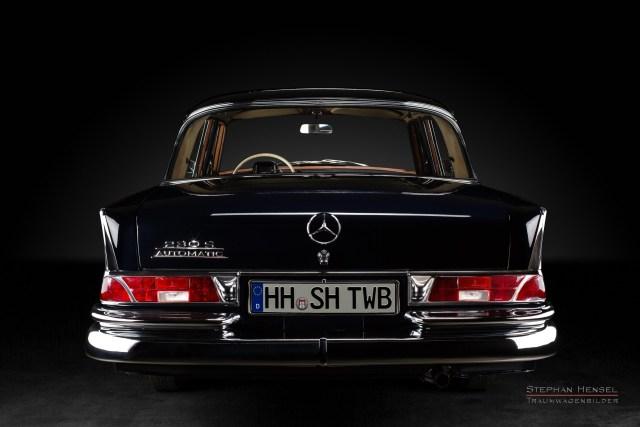 Mercedes-Benz 230 S, Heckansicht, Autofotograf: Stephan Hensel, Hamburg