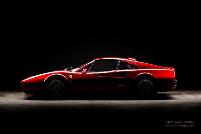 Ferrari 328 GTB, Seitenansicht von links, Autofotograf: Stephan Hensel, Hamburg