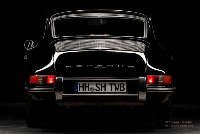 PORSCHE 912, Studioaufnahme, Ansicht von hinten, Autofotograf: Stephan Hensel, Hamburg, Oldtimerfotografie
