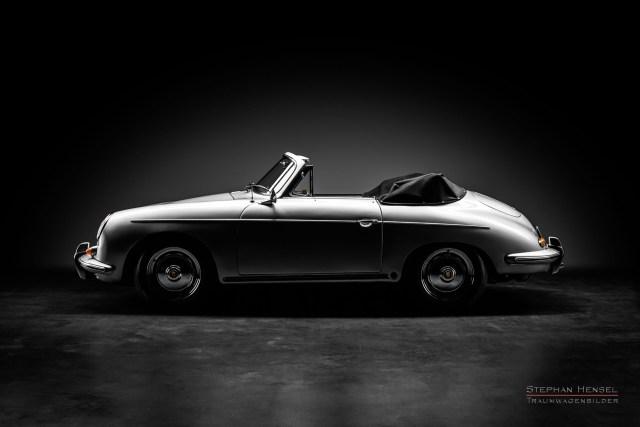 Porsche 356 B, Fahrerseite. Autofotografie: Stephan Hensel, Hamburg, Oldtimerfotograf, Autofotograf, Automobilfotograf, Oldtimerfotografie