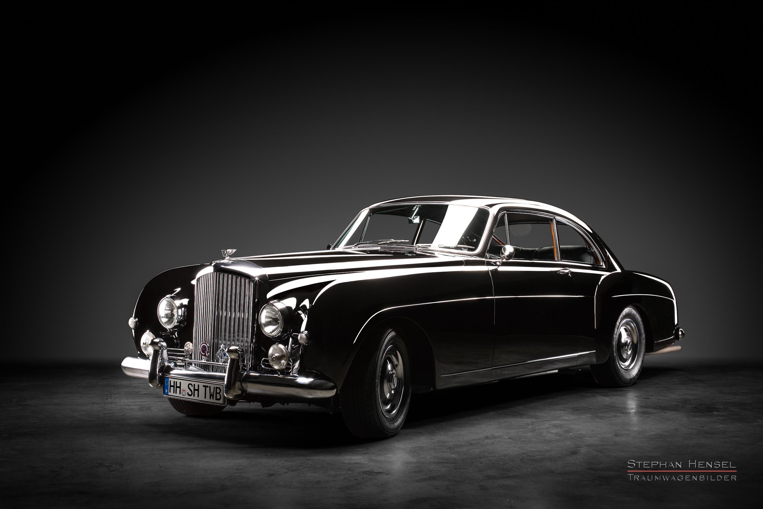 Bentley S1 Continental, 1956, Frontalansicht, Autofotograf, Hamburg, Automobilfotograf, Oldtimerfotograf, Oldtimerfotografie, Car Photography, Stephan Hensel
