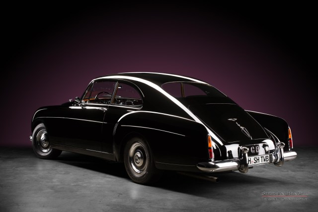 Bentley S1 Continental, 1956, Heckansicht von links, Autofotograf, Hamburg, Automobilfotograf, Oldtimerfotograf, Oldtimerfotografie, Car Photography, Stephan Hensel