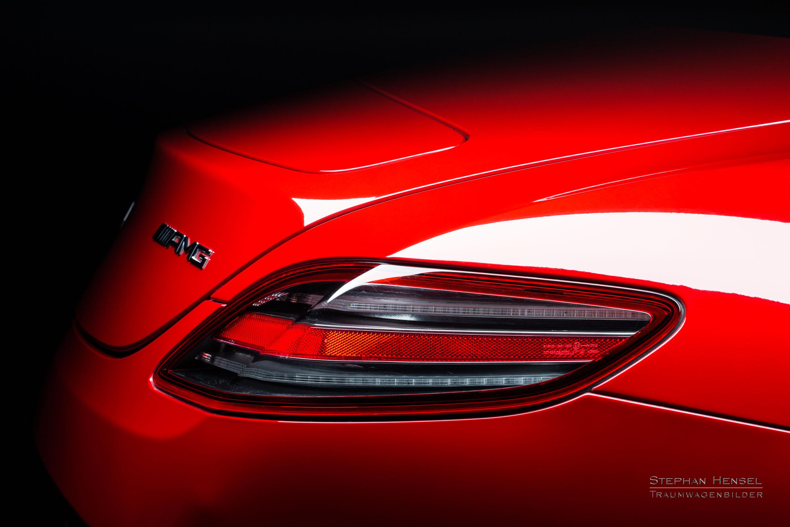 Mercedes-Benz AMG SLS, 2011, Studioaufnahme, Detailansicht, Autofotografie: Stephan Hensel, Hamburg, Oldtimerfotograf, Autofotograf, Automobilfotograf