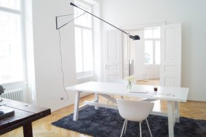 OUR HOME OFFICE + FLOS 265   traumzuhause