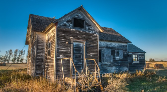 Ellendale Abandoned Farmstead | ND Drift Prairie
