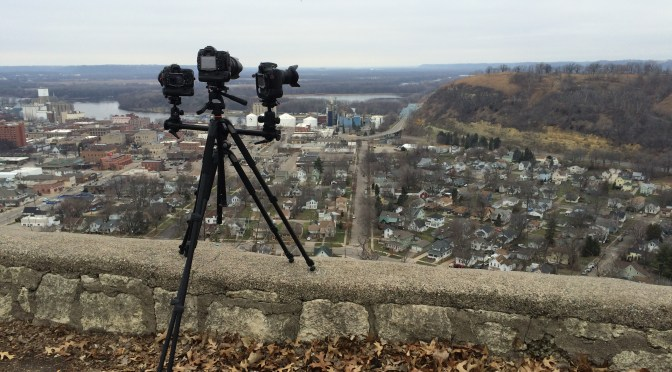 An unseasonably mild, snow-less and cloudy afternoon #time-lapse