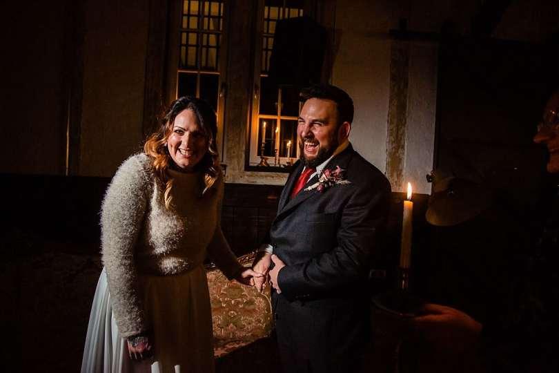Eheversprechen bei Bekräftigungszeremonie BEZZI mit freie Trauung bei Hochzeit mit Traurednerin Trautante Friederike Delong von Hochzeitsfotograf Steven Herrschaft