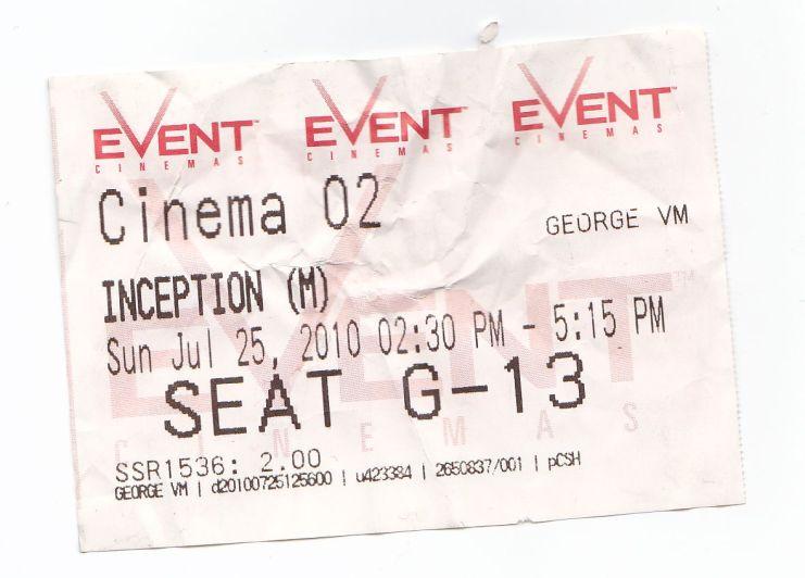 inceptionticket