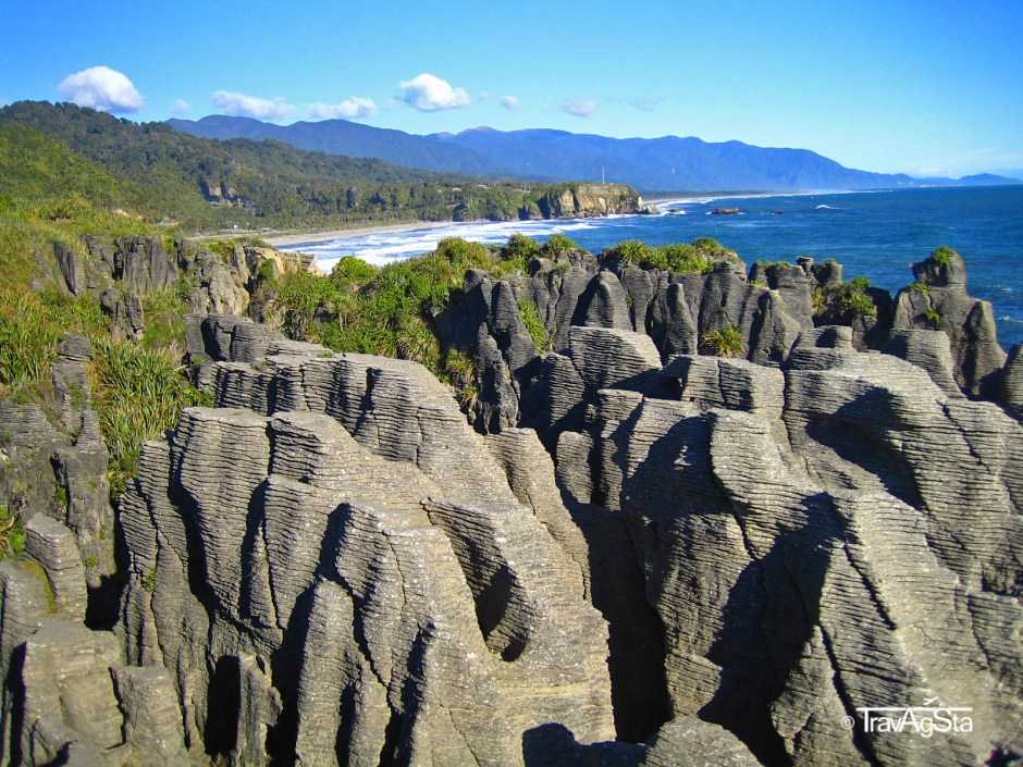 Pancake Rocks - New Zealand