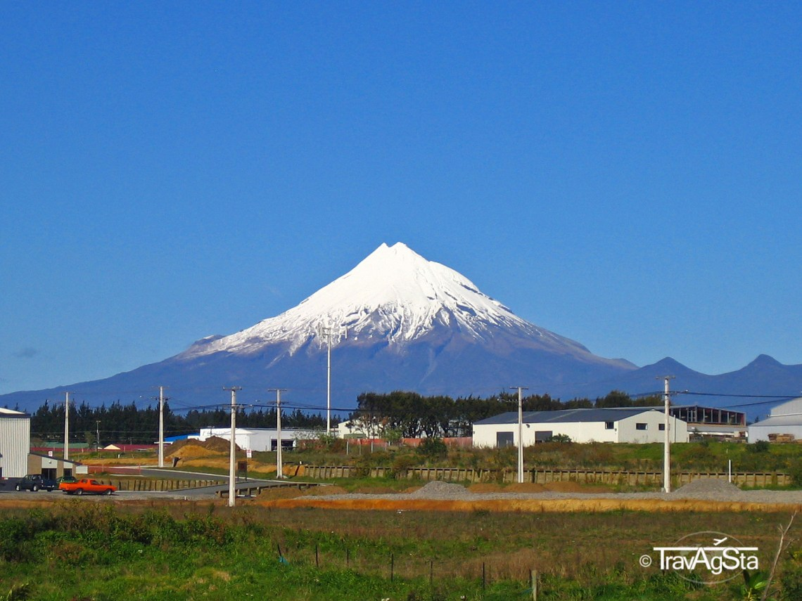 Mount Taranaki - New Zealand