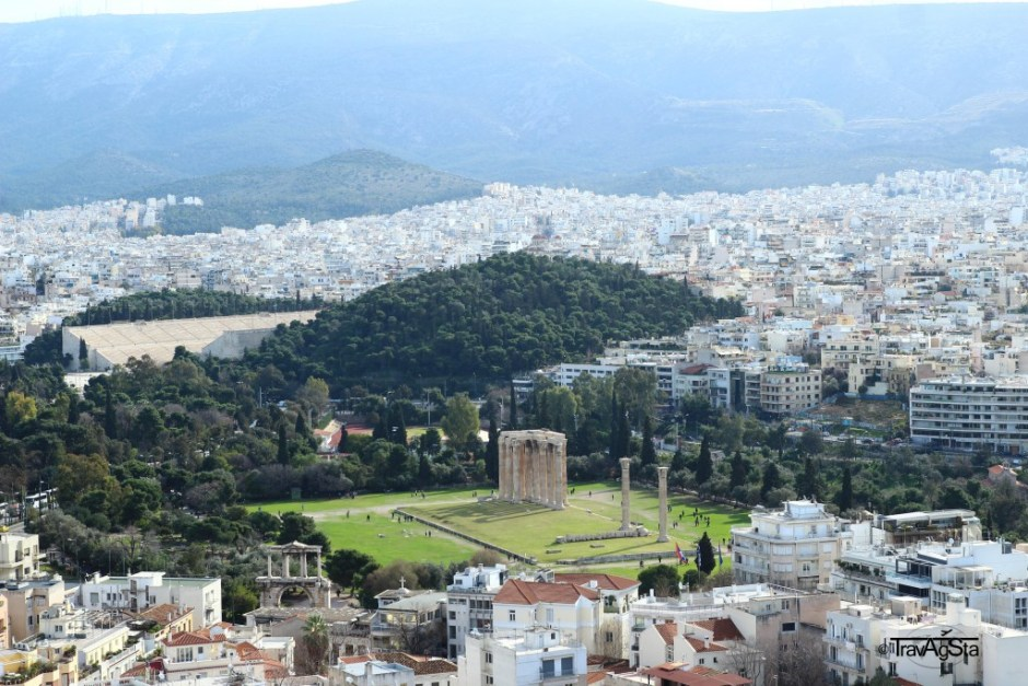View from Acropolis, Athens, Greece