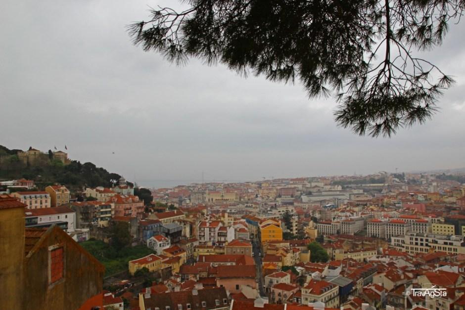 Miradouro da Graça, Lisbon, Portugal