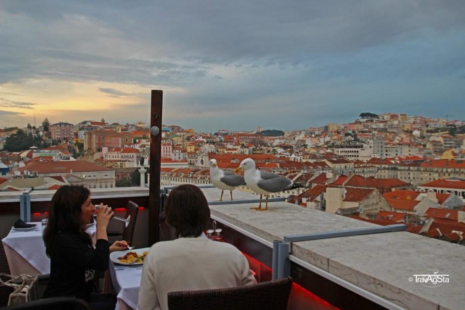 Santa Justa Elevador, Lisbon, Portugal