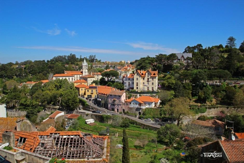 View from Palacio Nacional de Sintra, Sintra, Portugal