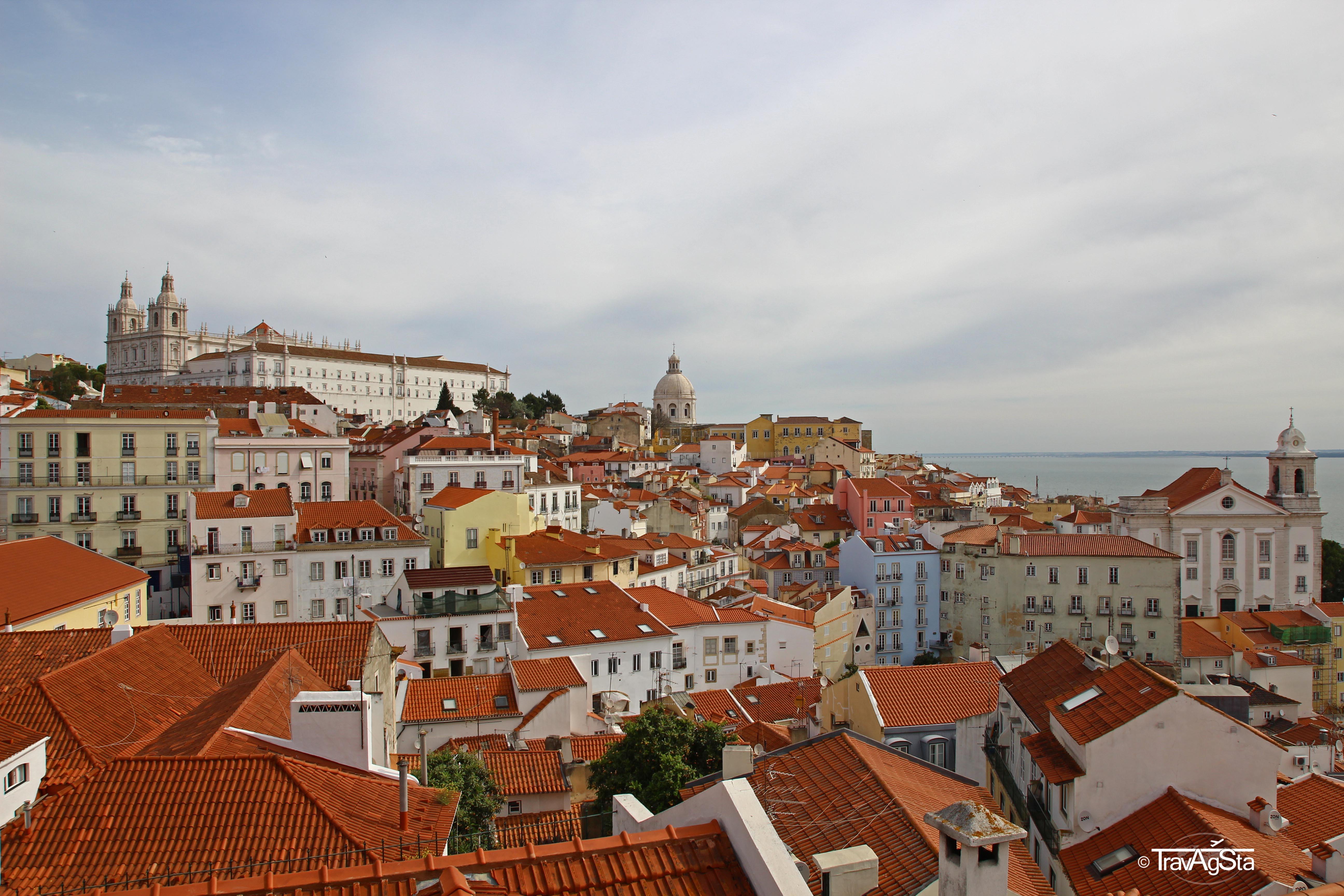 Lissabon und seine Miradouros!
