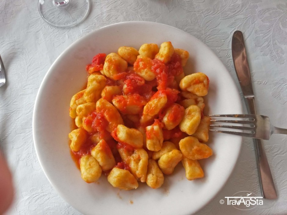 Gnochi ai Pomodoro, Cilento, Italy