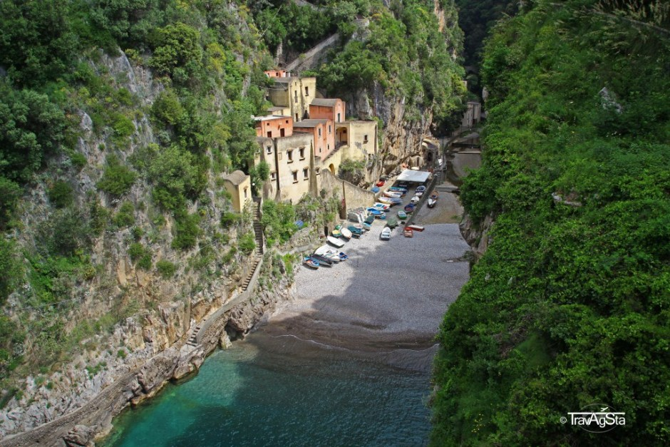 Fuore, View from Bridge, Amalfi Coast, Italy
