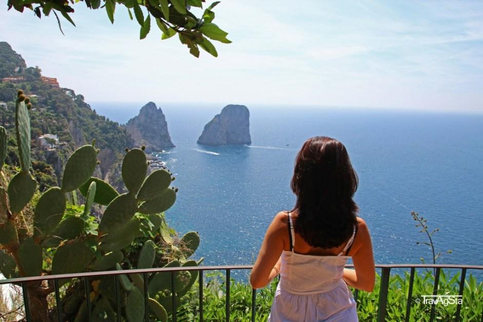 Gärten des Augustus, Capri, Italy