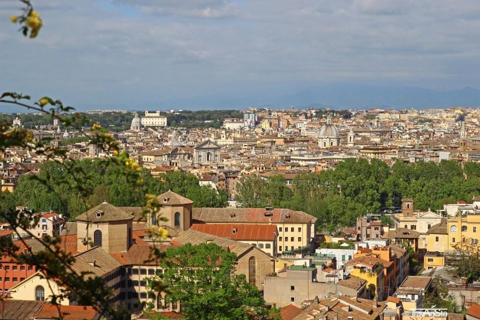 Gianicolo, Rome, Italy