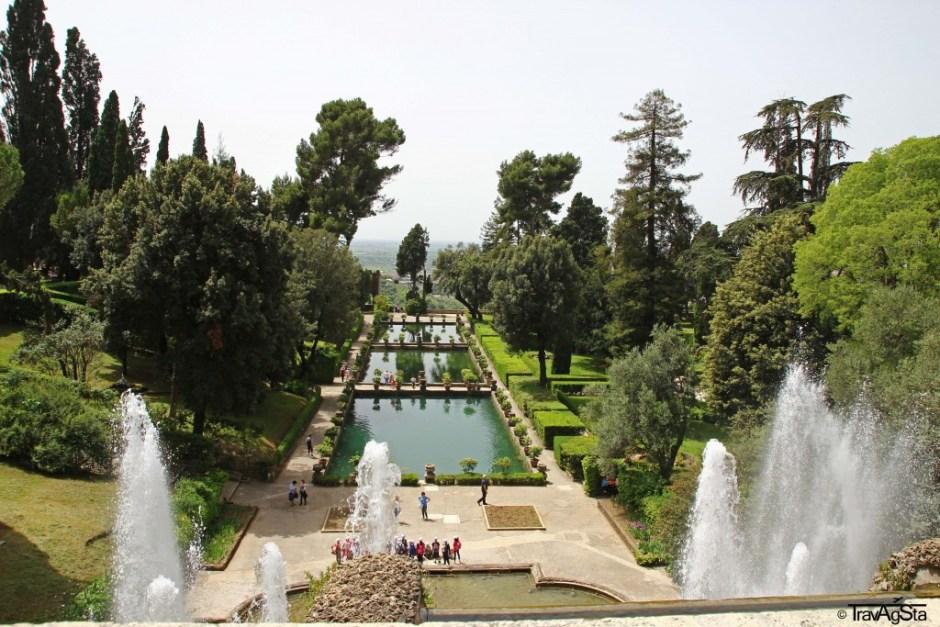 Le Peschiere, Villa d'Este, Tivoli, Italy