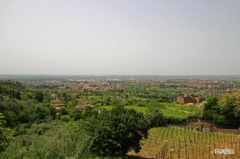 Tivoli, Italy; View from Villa d'Este