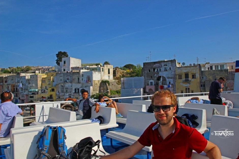 Procida, Ferry, Italy
