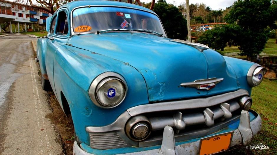 Unser Schmuckstück - ein 35 Jahre alter Chevrolet, Cuba