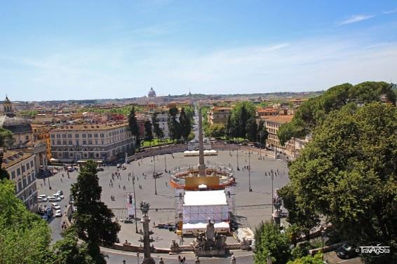 Rome, Piazza di Popolo