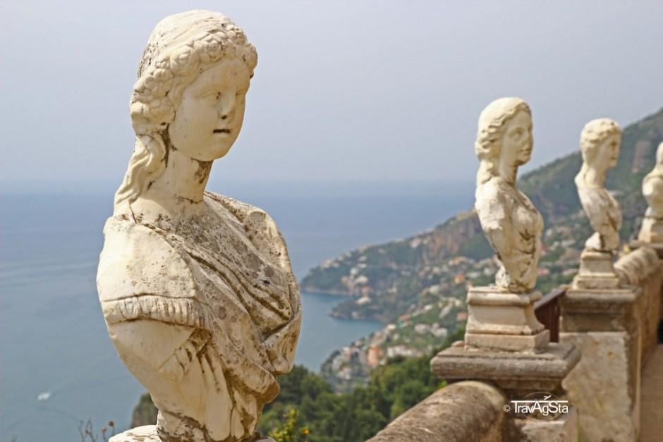 Ravello, Villa Cimbrone, Amalfi Coast, Italy