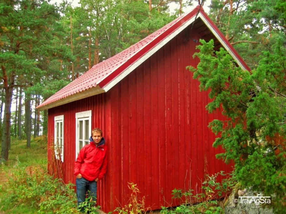 Schwedenhaus in den Schären