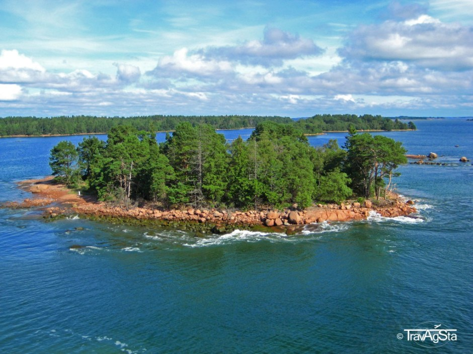 One of the archipelago's islands, Finland