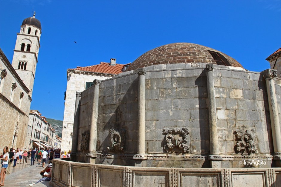 Onofrio Fountain, Dubrovnik, Croatia