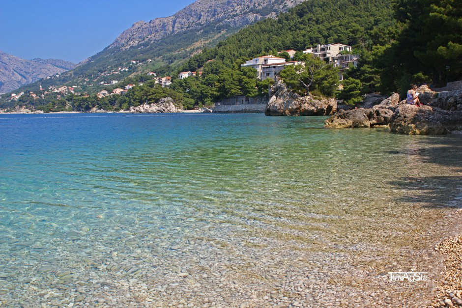 Punta Rata Beach, Makarska Riviera, Croatia