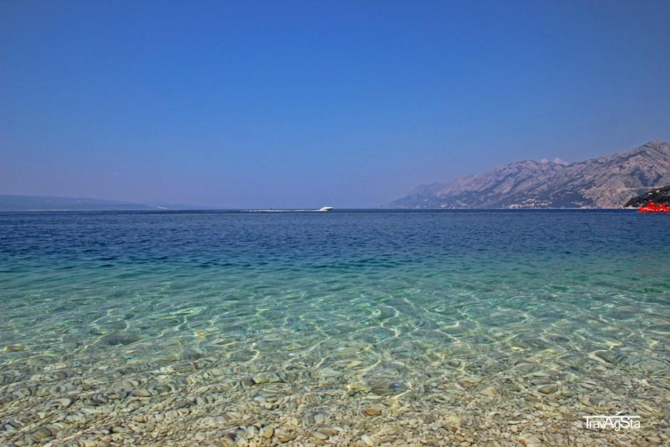 Punta Rata Beach, Dalmatia, Croatia