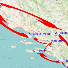 Route West-Balkan in 10 Tagen