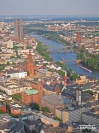 View from Main Tower, Frankfurt am Main, Germany