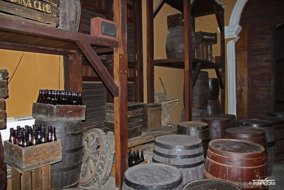 El Museo del Ron Havana Club, Havana, Cuba