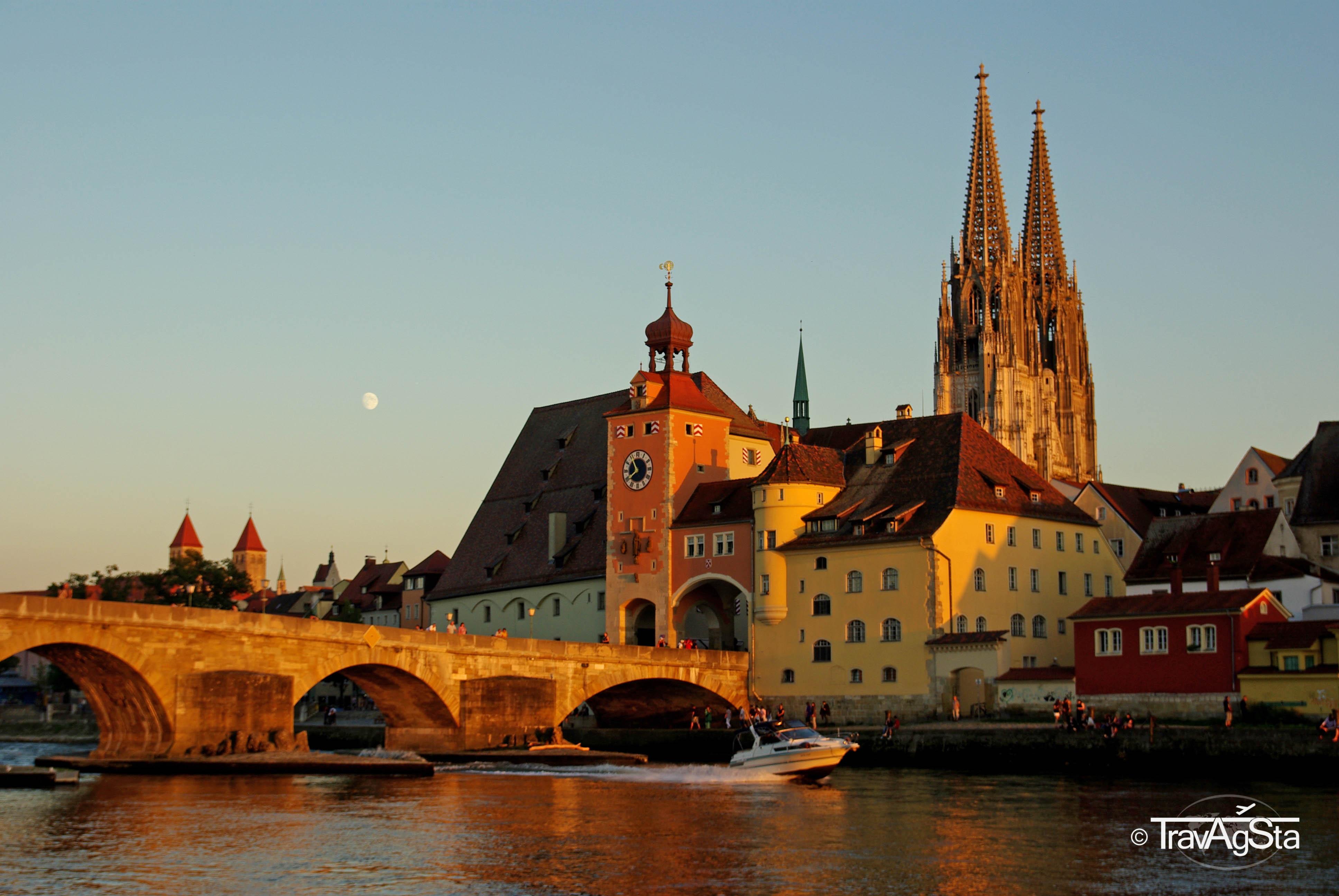 Regensburg – Sightseeing in der nördlichsten Stadt Italiens!