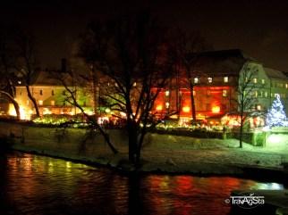 Christmas Market, Spitalmarkt, Regensburg, Germany