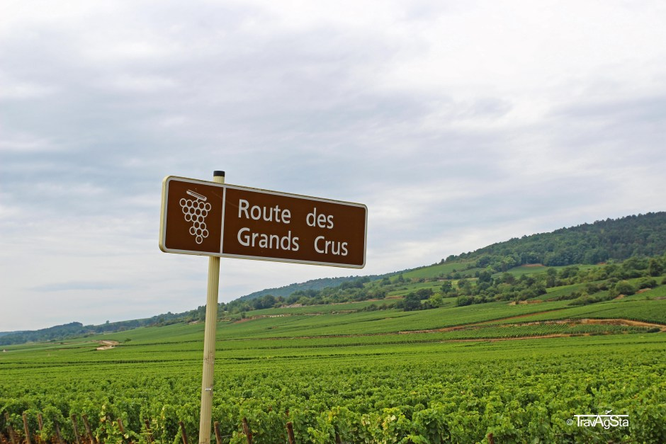 Routes des Grands Crus, Burgundy, France