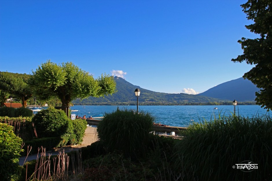 Lac d'Annecy, France