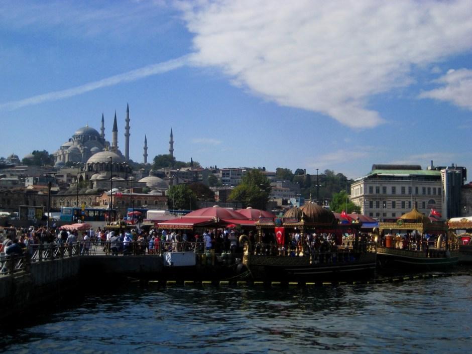 Galata Bridge, Eminönü, Istanbul, Turkey