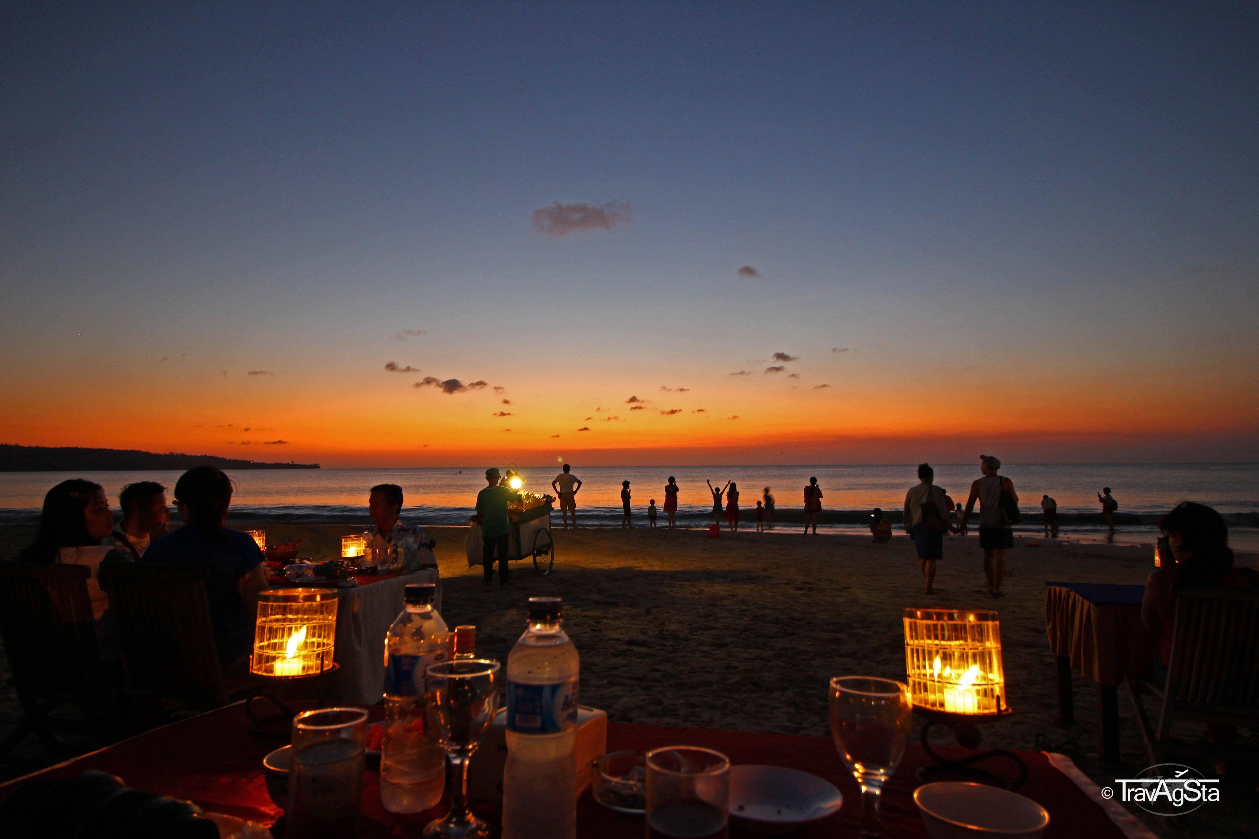 Legian und Jimbaran – Sonnenuntergänge, Strände und Seafood!