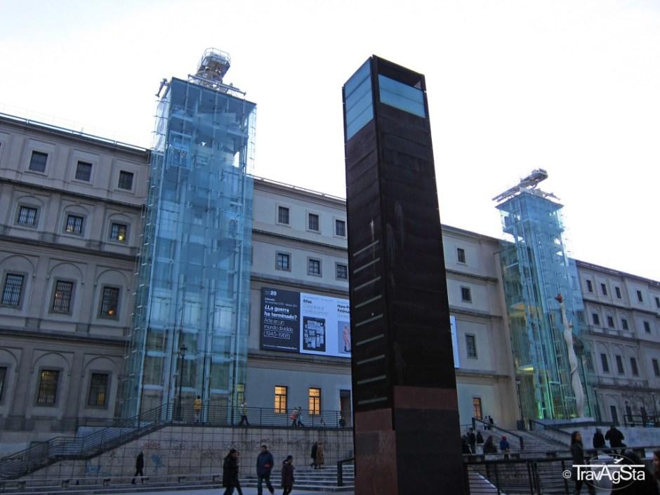 Museo Nacional Centro de Arte Reina Sofía, Madrid, Spain