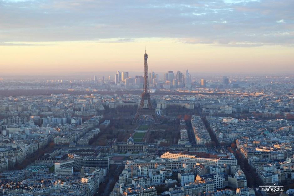 Turm Montparnasse, Paris, France