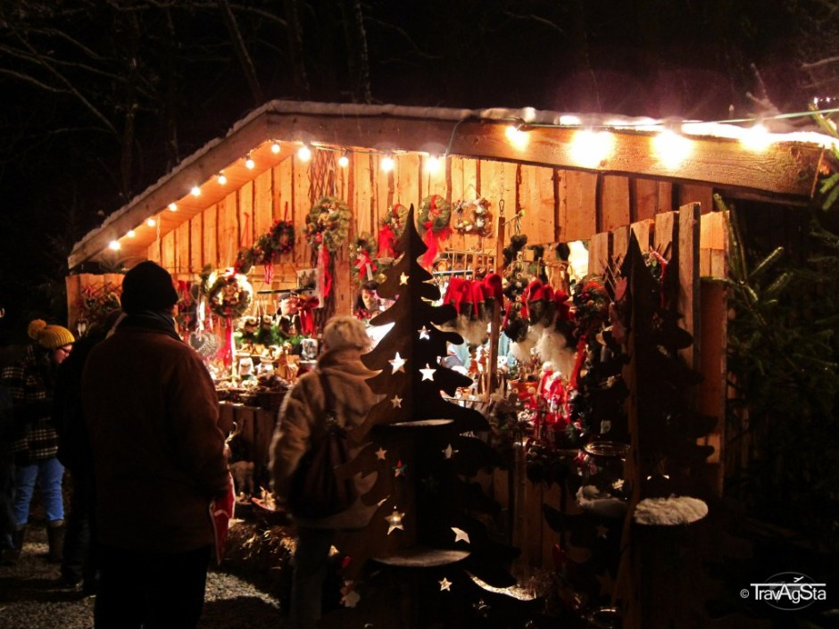 Christmas Market/ Weihnachtsmarkt Guteneck, Germany
