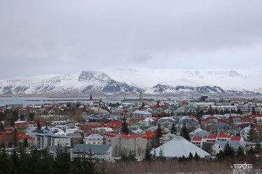 View from Perlan, Reykjavik, Iceland